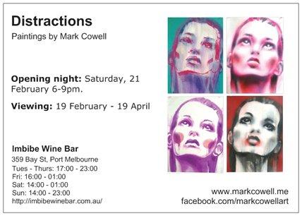 Exhibition invite - Distractions