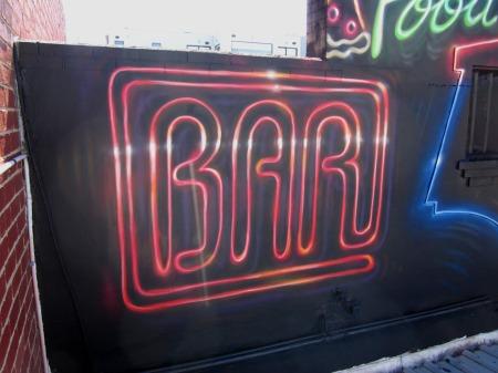 Neon sign effecteffect
